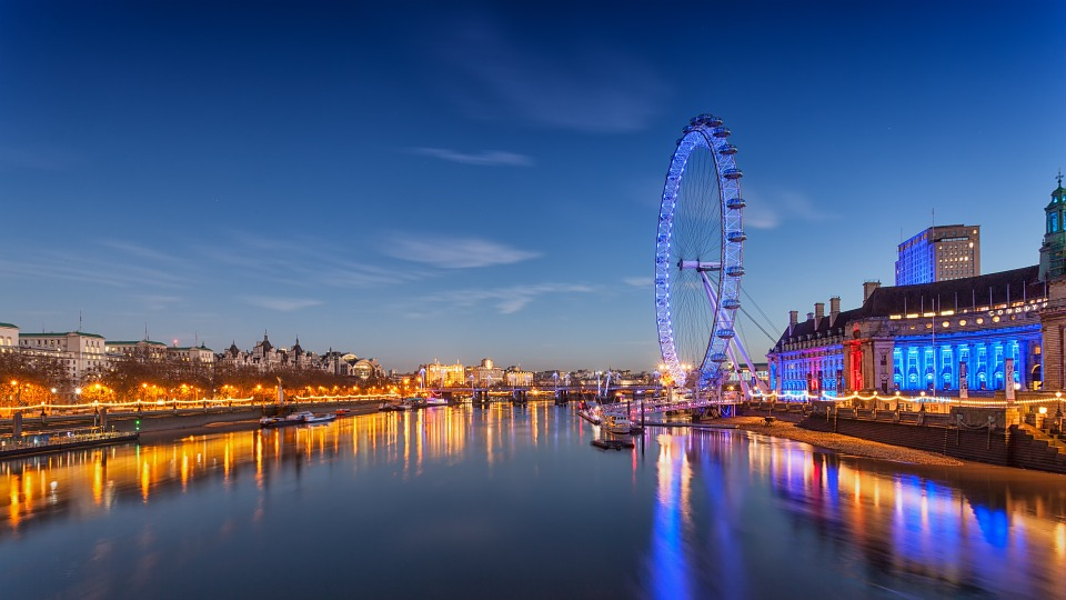 London Eye, Ferris Wheel, London, England, Landmark