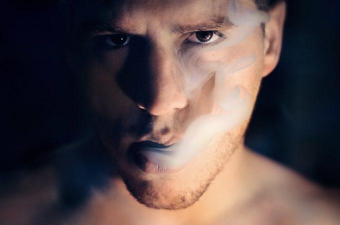 Man, Smoke, Portrait, Smoker, Smoking, Cigarette