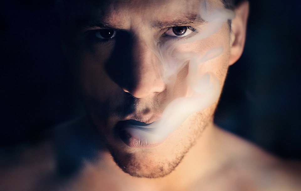Man, Smoke, Portrait, Smoker, Smoking, Cigarette