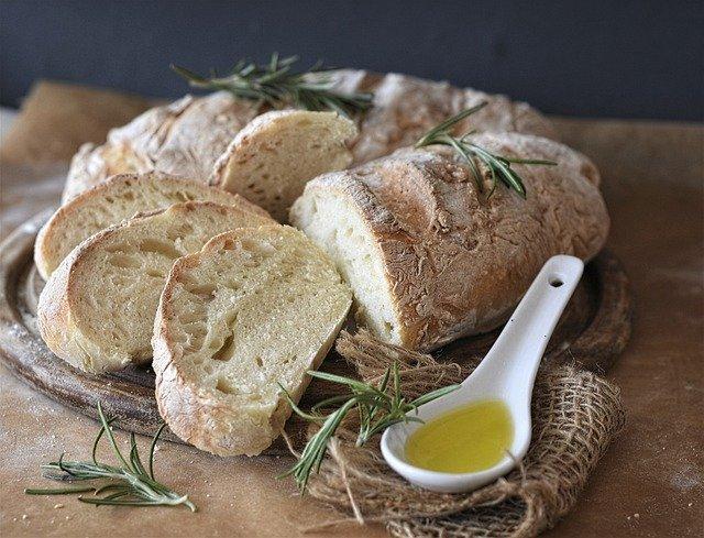 Texas olive oil bread