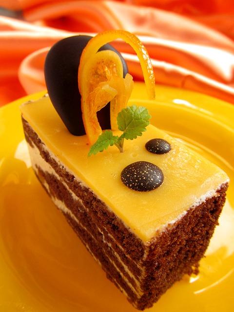 Texas orange cake